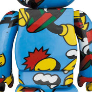bearbrick 100 and 400 set grafflex back urban attitude