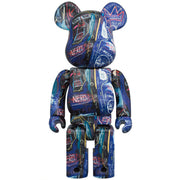 bearbrick 100 and 400 set jean-michel basquiat 7 400 urban attitude