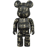 bearbrick 100 and 400 set jean-michel basquiat version 8 400 urban attitude