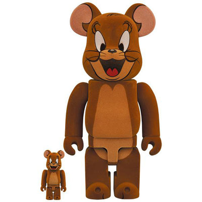 bearbrick 100 and 400 set jerry flocky tom and jerry front urban attitude