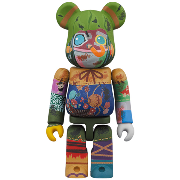 bearbrick 100 and 400 set poupelle 100 urban attitude