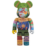 bearbrick 100 and 400 set poupelle 400 urban attitude