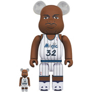 bearbrick 100 and 400 set shaquille oneal urban attitude