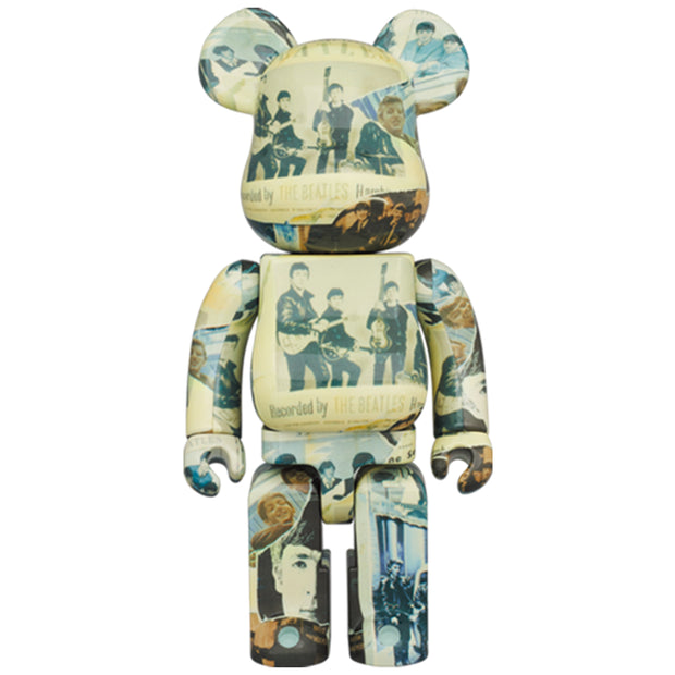 bearbrick 100 and 400 set the beatles anthology 400 urban attitude