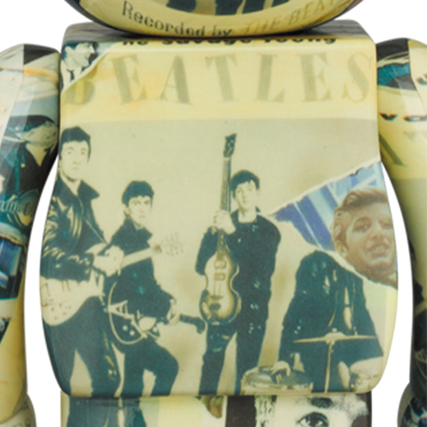 bearbrick 100 and 400 set the beatles anthology back urban attitude