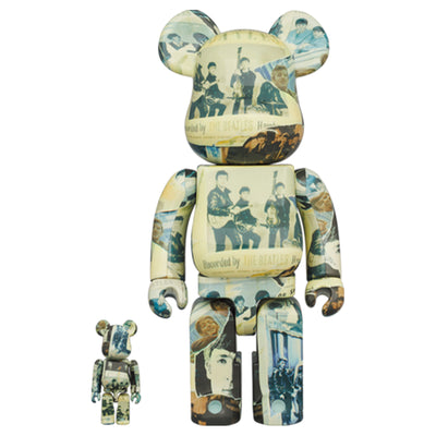 bearbrick 100 and 400 set the beatles anthology urban attitude
