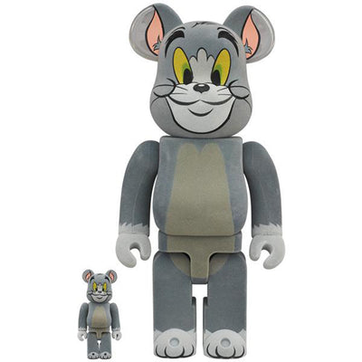 bearbrick 100 and 400 set tom flocky tom and jerry front urban attitude
