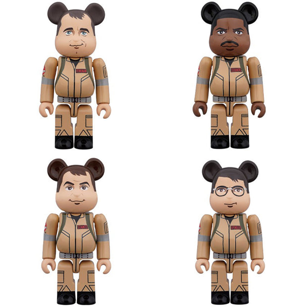 bearbrick 100 set ghostbusters 4 urban attitude