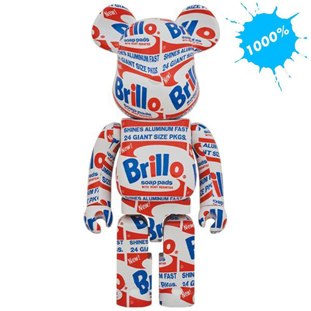bearbrick 1000 andy warhol brillo urban attitude