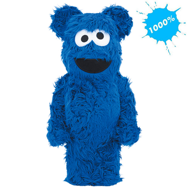 bearbrick 1000 cookie monster costume version main urban attitude