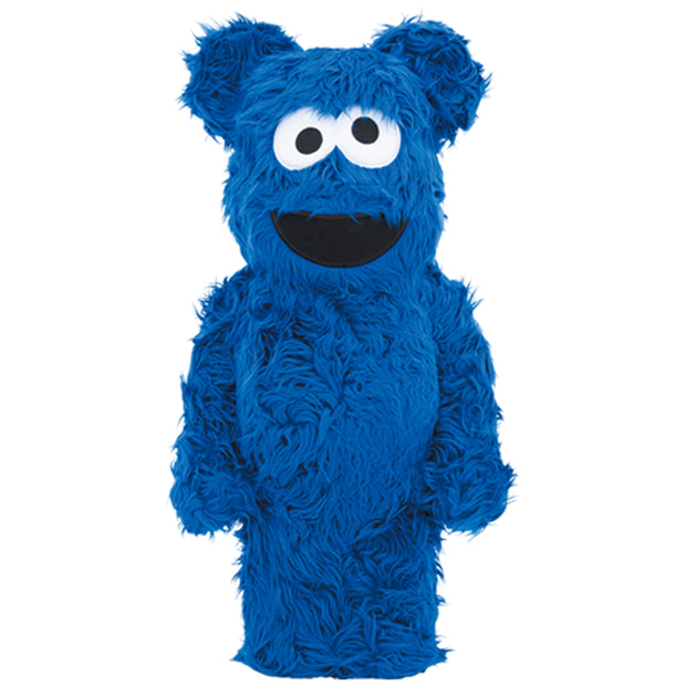 bearbrick 1000 cookie monster costume version urban attitude
