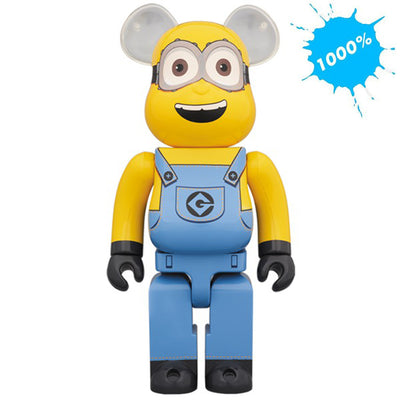 bearbrick 1000 despicable me minions dave main urban attitude