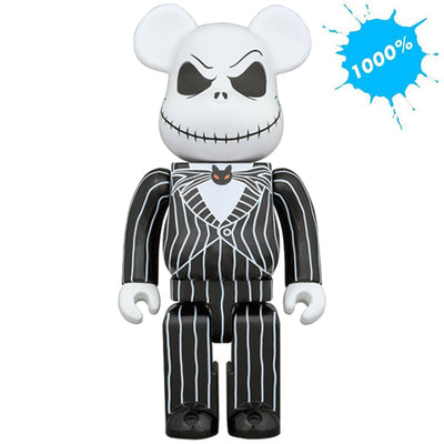 Bearbrick 1000% The Nightmare Before Christmas Jack Skellington urban attitude