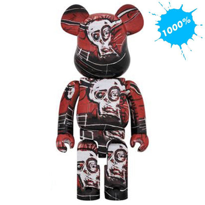 Bearbrick 1000% Jean-Michel Basquiat Version 5 urban attitude