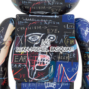 bearbrick 1000 jean-michel basquiat 7 back urban attitude