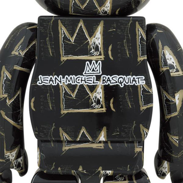 bearbrick 1000 jean-michel basquiat version 8 back urban attitude
