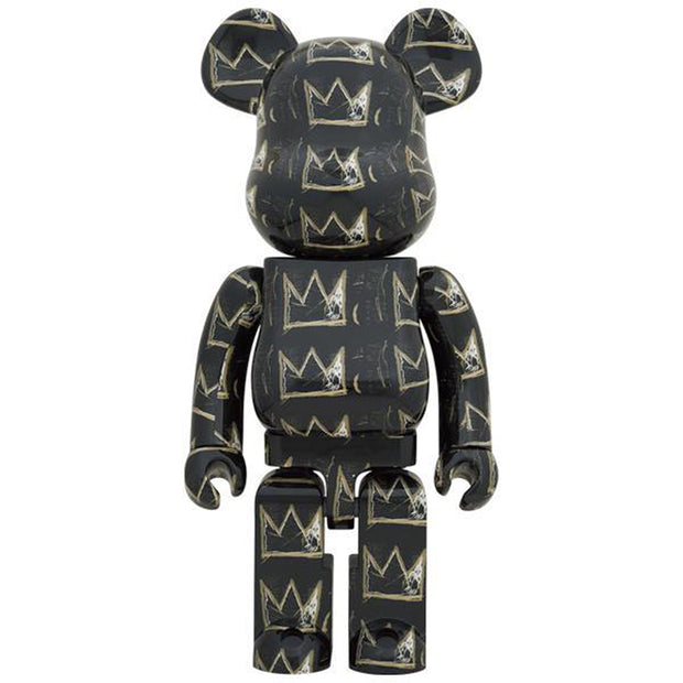 bearbrick 1000 jean-michel basquiat version 8 front urban attitude