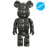 bearbrick 1000 jean-michel basquiat version 8 main urban attitude