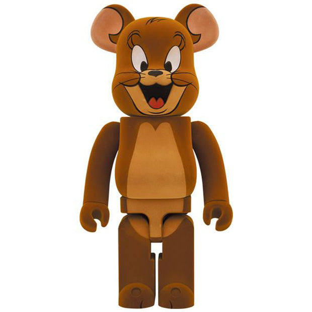bearbrick 1000 jerry flocky tom and jerry front urban attitude