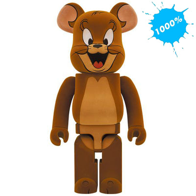 bearbrick 1000 jerry flocky tom and jerry main urban attitude
