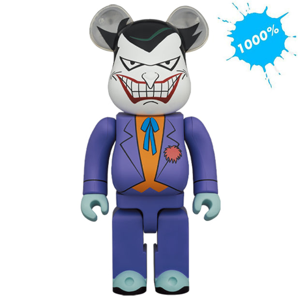 bearbrick 1000 joker batman animated series dc urban attitude