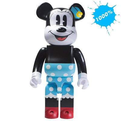 Bearbrick 1000% Minnie Mouse urban attitude