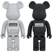bearbrick 1000 oasis white chrome urban attitude