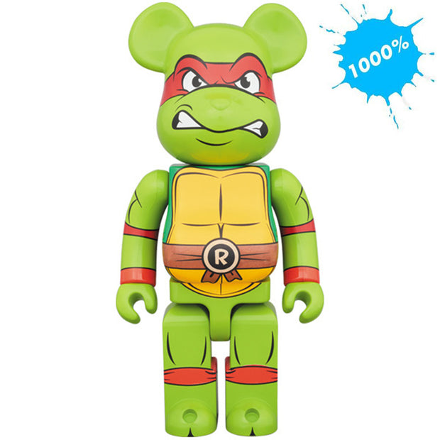 bearbrick 1000 teenage mutant ninja turtles raphael urban attitude
