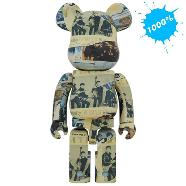 bearbrick 1000 the beatles anthology main urban attitude