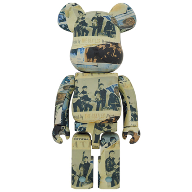 bearbrick 1000 the beatles anthology urban attitude