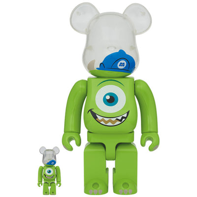 bearbrick 400 100 set monsters inc mike urban attitude
