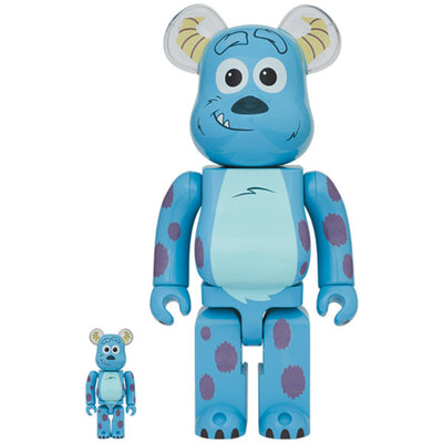 bearbrick 400 100 set monsters inc sulley urban attitude