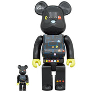 bearbrick 400 and 100 set pac-man urban attitude