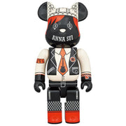 bearbrick 400 anna sui red and beige urban attitude