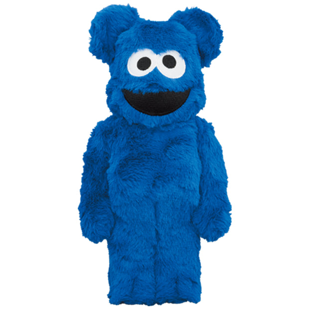 bearbrick 400 cookie monster costume version urban attitude