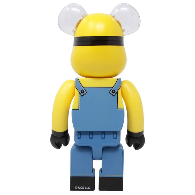 bearbrick 400% despicable me minion bob back urban attitude