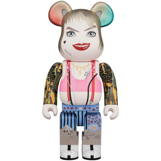 bearbrick 400% harley quinn birds of prey urban attitude
