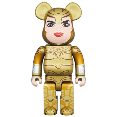 bearbrick 400 wonder woman golden armor urban attitude
