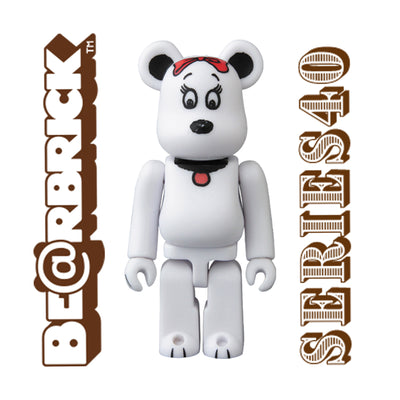 bearbrick series 40 100 cute peanuts belle urban attitude