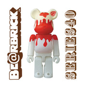 bearbrick series 40 100 jellybean strawberry urban attitude