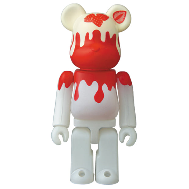 Bearbrick 100% Series 40 Jellybean - Strawberry