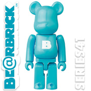 bearbrick series 41 basic logo urban attitude