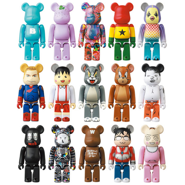 bearbrick series 41 box 24 collection urban attitude
