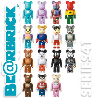 bearbrick series 41 collection logo urban attitude