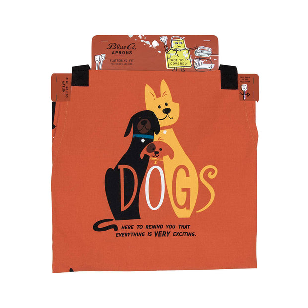 blue q apron dogs packaging urban attitude