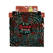blue q apron i'll bake love to you packaging urban attitude