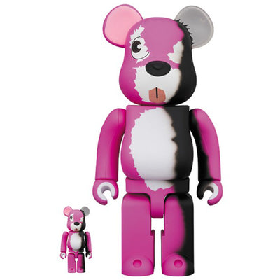 bearbrick 100% 400% Set Breaking Bad Pink Bear urban attitude