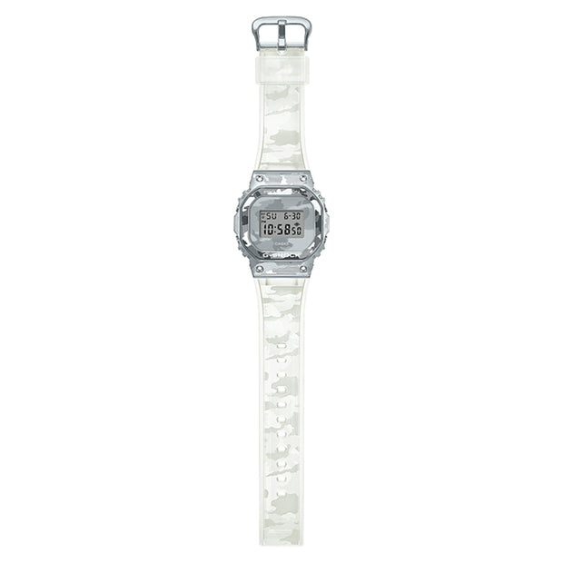 casio g-shock watch metal covered series clear camo gm5600scm-1d full urban attitude