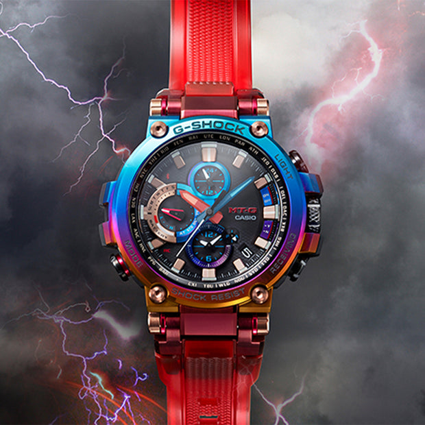 casio g-shock watch multi mtgb1000vl-4a background urban attitude