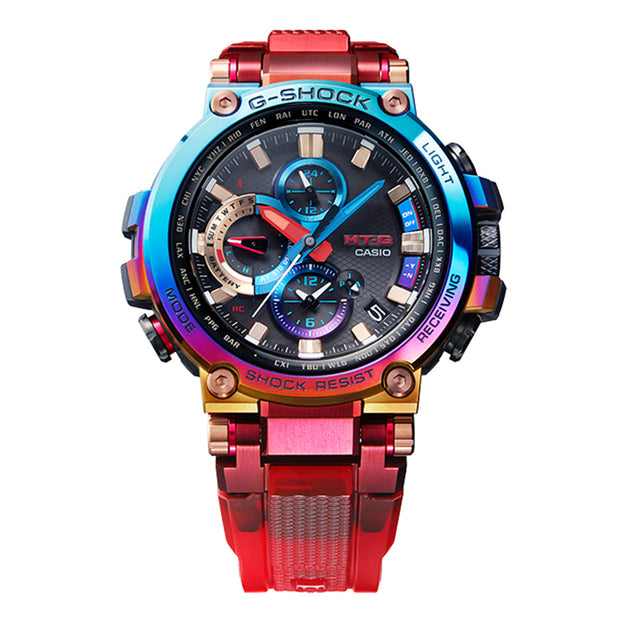casio g-shock watch multi mtgb1000vl-4a front urban attitude